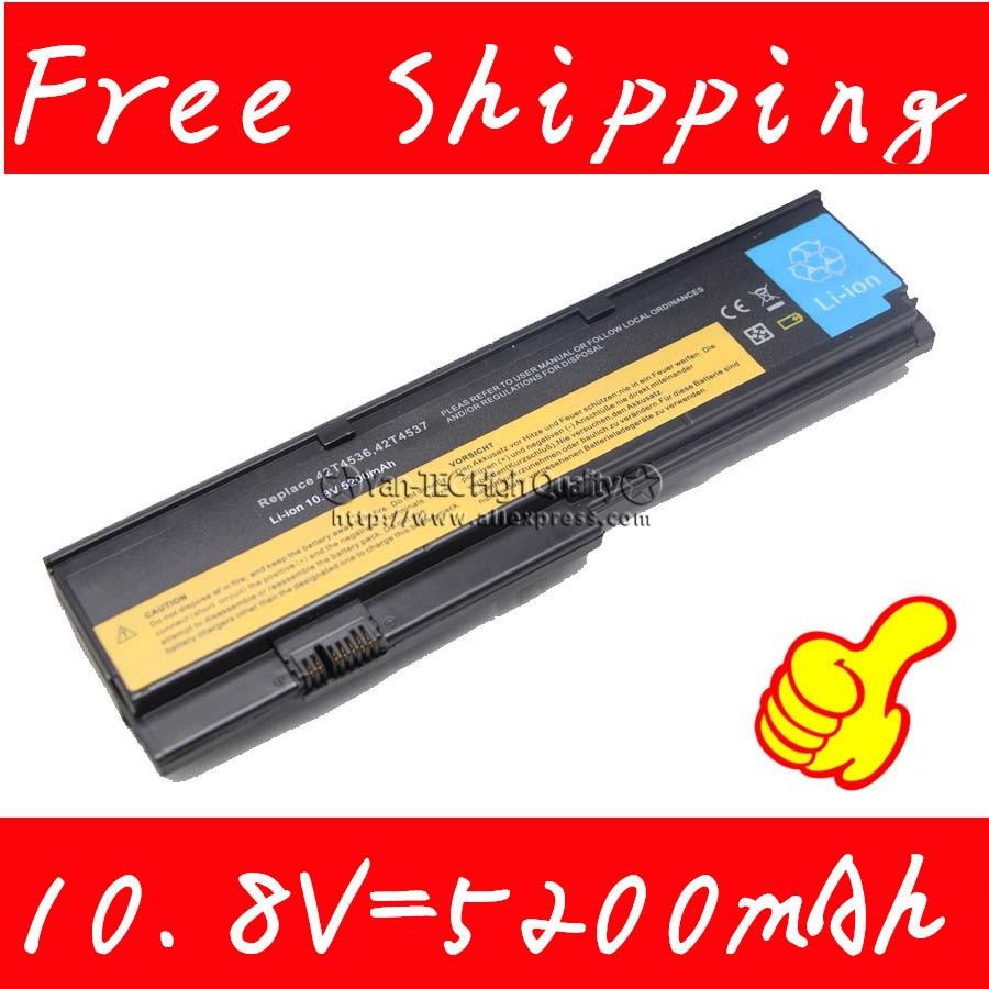 Замена батареи ноутбука для Thinkpad X200 X200s X201 X201i Бесплатная доставка 6 ячеек