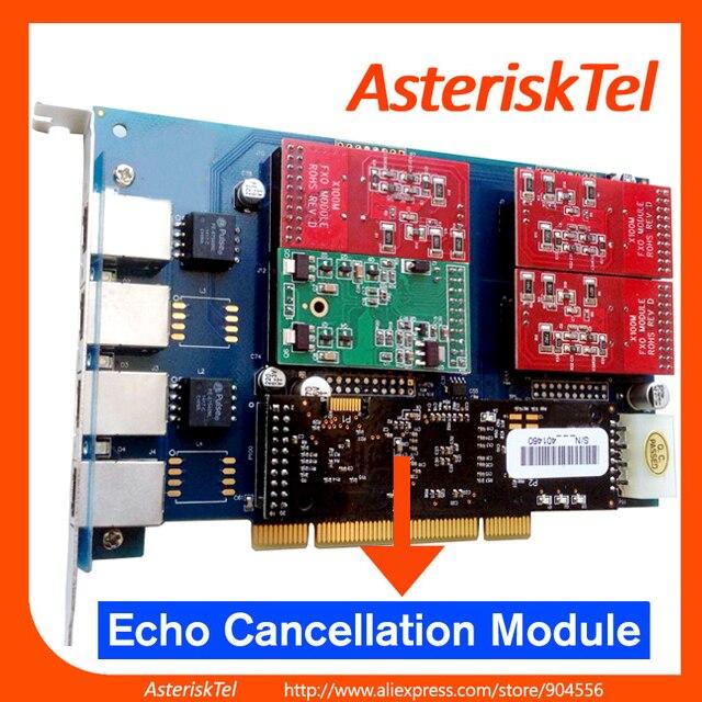 TDM410P con 3 puertos FXO + 1 puertos FXS, con tarjeta de cancelación de eco VPMADT032, TDM410 FXS tarjeta tdm400 digium tarjeta Asterisk tarjeta TDM404B