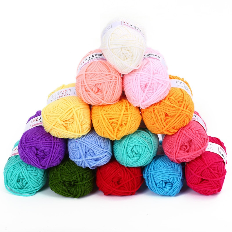 De color tejido cuerdas bricolaje Material accesorios niños tejer a mano boda...
