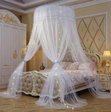 Moustiquaire Double avec diamètre de 120cm   Moustiquaire princesse, rideau de couchage, filet pour lit baldaquin pleine reine, cadeau