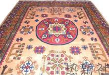 Xinjiang et Tian tapis fait main   Tapis en laine pure, salon table de thé horizontale C