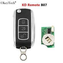 Okeytech télécommande voiture intelligente clé Fob série B BC Style 3 boutons B07 télécommande KD clé pour KD900/KD900 +/KD300/KD200/URG200