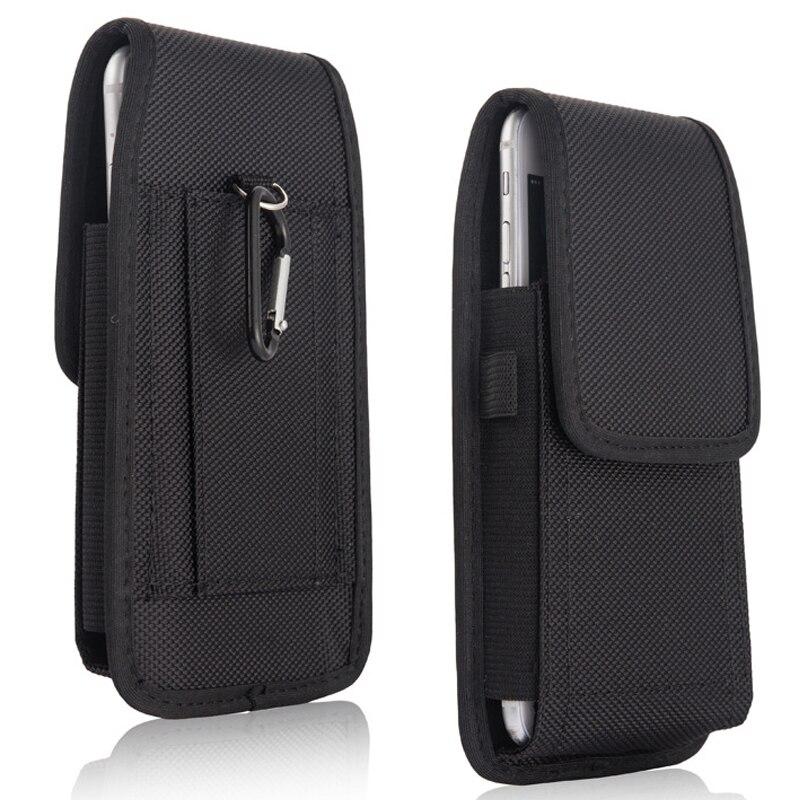 Funda de cintura para Xiaomi Redmi Note 7, funda de nailon con mosquetón para Xiaomi Redmi Note 8 pro Note 8T