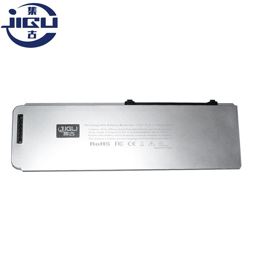 "Jigu plástico escudo mb470j/a mb772 bateria do portátil para apple macbook pro 15 ""(versão 2008) mb772j/a mb471x/a mb772 */a a1281 a1286"