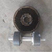 KL200 ZLSP200 feed wood pellet mill machine roller and 3.5 mm 5 mm diameter die matrix