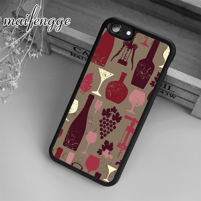 Maifengge 1004 caso padrão de vinho do vintage para iphone 5 6s 7 8 plus x xr xs max 11 12 pro samsung galaxy s7edge s8 s9 s10