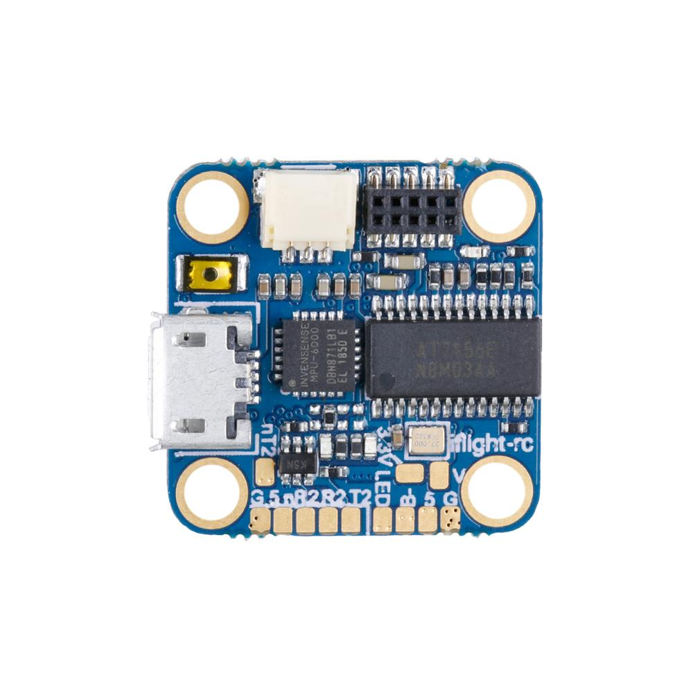 IFlight SucceX Micro F4 V1.5 a 2-4S STM32F411 controlador de vuelo MPU6000 con OSD/8MB Blackbox/5V 2.5A BEC/M3 agujero para FPV drone
