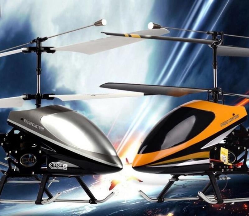 Helicóptero rc de gran tamaño 80CM DH9101 3.5CH súper resistencia a la caída de helicóptero RC RTF heli Metal Gyro Control remoto juguete para regalo