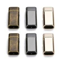 Xinyao 5 قطعة/الوحدة العتيقة برونزية سبائك اللون شقة قوي المغناطيسي المشبك صالح 10x5 ملليمتر جلد الحبال الأساور المجوهرات diy كرافت