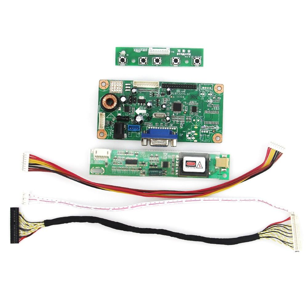 Новая плата драйвера управления VGA LVDS монитор повторного использования ноутбука 1440x900 для LTN170BT08 B170PW07 V.0