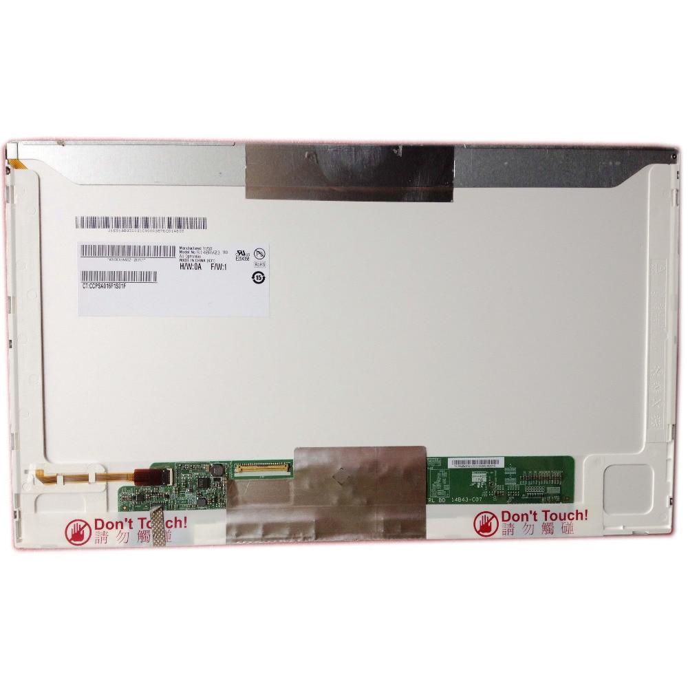 LALAWIN B140RW03 V.0 صالح LTN140KT04 LTN140KT01 LTN140KT07 LP140WD1 TLM1 N140O6-L02 40 دبوس 1600*900 جديد LED عرض شاشة الكمبيوتر المحمول