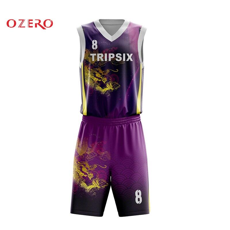 De diseño negro uniforme de jersey de baloncesto el customizing de malla transpirable camisa