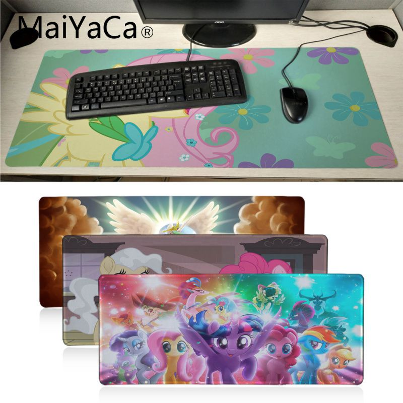 Maiyaca Little Pony Office Mice Gamer Soft Mouse Pad Gaming Mousepad For PC Laptop Notebook large mouse pad gamer desk pad