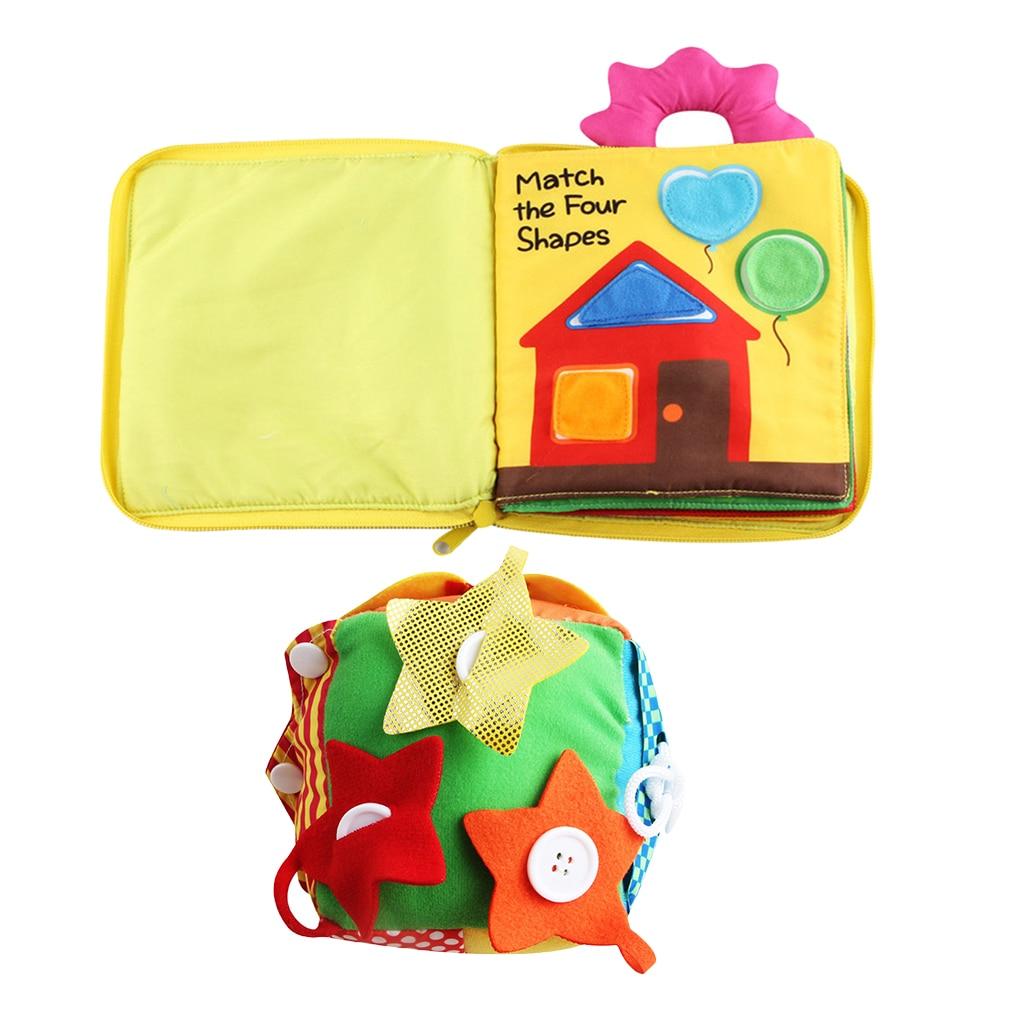 2 مجموعة الحياة الأساسية مهارة لعبة تعليمية للأطفال طفل صغير ، وتعلم أن الرمز البريدي زر المفاجئة مشبك التعادل