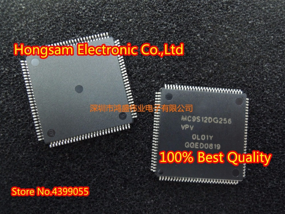 Envío Gratis 100% nuevo y Original (5 piezas) MC9S12DG256VPV MC9S12DG256VPVE MC9S12DG256 MC9S12DJ64VFUE MC9S12DJ64VFU MC9S12DJ64 QFP