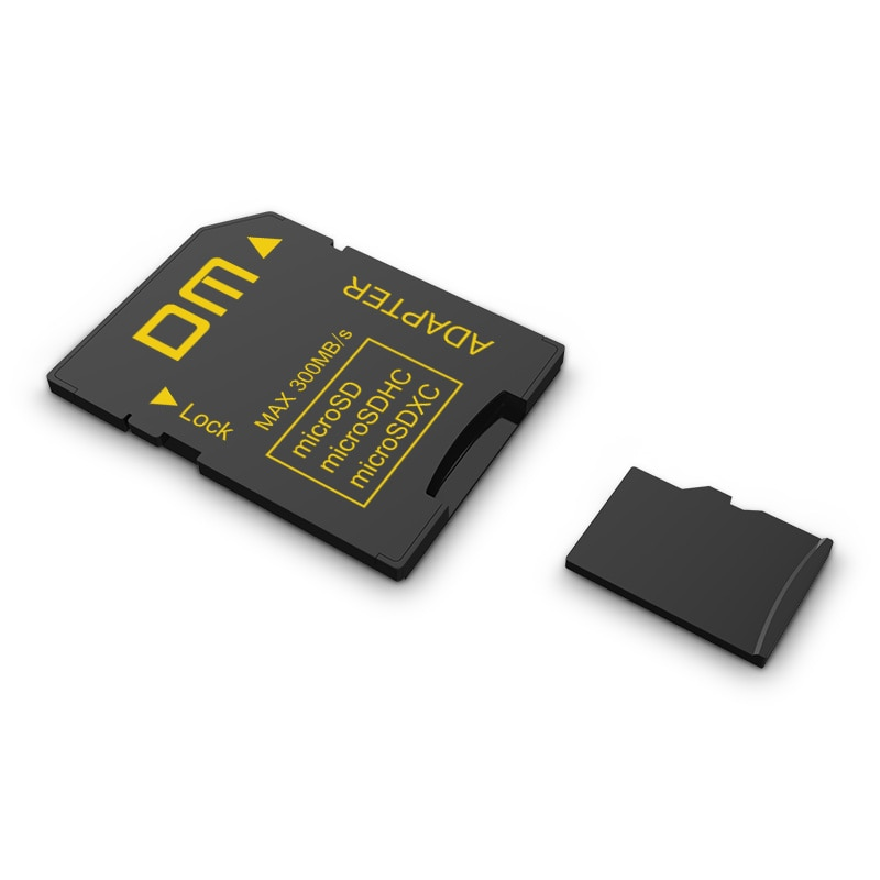 Adaptador DM SD-T SD2.0 comptabile con microSD microSDHC microSDXC suport capacidad máxima a 2TB