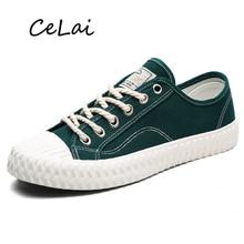 CeLai réplique classique mode chaussures pour hommes plusieurs couleurs 2020 nouveau bas pour aider vulcanisé chaussures décontracté sauvage étudiant chaussures A-011