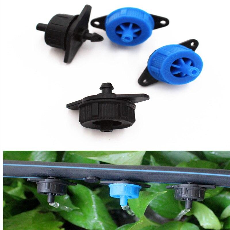 20 шт. 4L 8L компенсатор давления, капельный излучатель онлайн, капельный излучатель для полива сада
