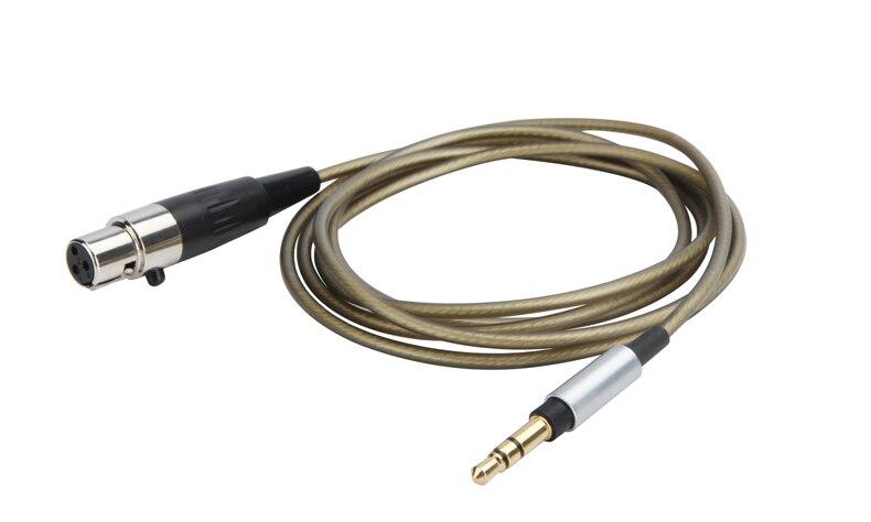 6FT chapados en plata para Cable de Audio para AKG K182 K175 K7XX K245 K275 K181 DJ UE K240 estudio K702 K267 TIESTO K712 Q701 auriculares