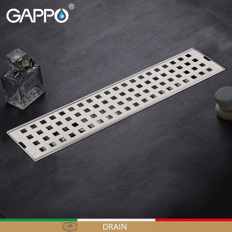 GAPPO مصارف المضادة للرائحة الحمام دش مصارف أرضيات حمام تجفيف سدادة حوض المصرفات مصافى