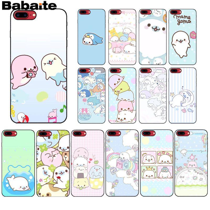 Babaite mametoma sello patrón TPU suave teléfono accesorios teléfono móvil caso para Apple iPhone 8 7 6 6S Plus X XS MAX 5 5S SE XR