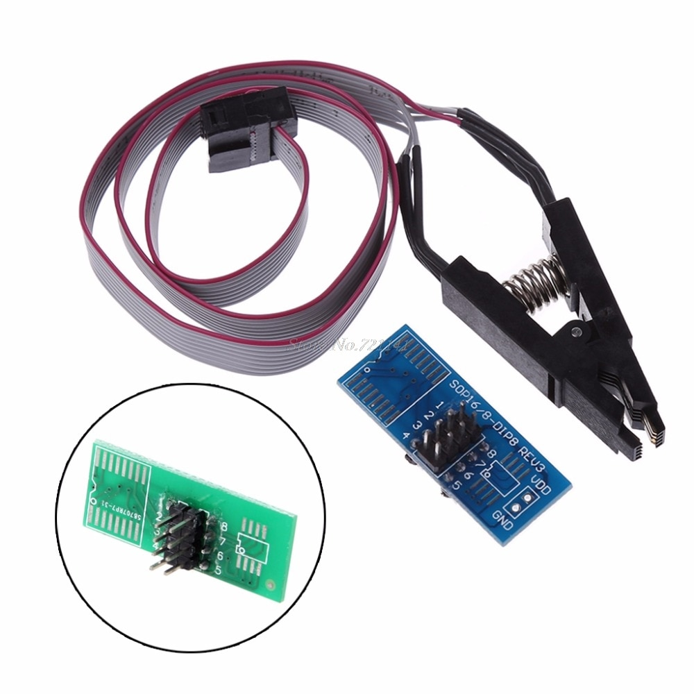 Test Clip SOIC8 SOP8 Test Clips For EEPROM 93CXX/25CXX/24CXX In-circuit Programmer Dropship