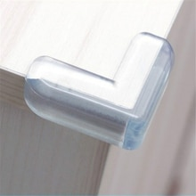 4pcs Baby Safety Silicone Corner Protector Kids Soft Clear Table Desk Edge Corner Guards Table Corne