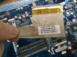 Neue original CLEVO P370EM LVDS CABLE-3D 6-43-P37E1-020-J 6-43-P37E1-030-J für P370EM P370 375 377