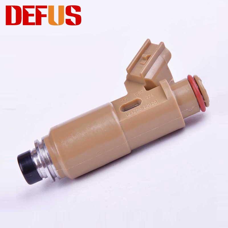 6X Injector De Combustível OE 23250-22020 Para 23209-22020 COROLLA AVENSIS CELICA 1.8 LTR 1ZZ 1 1ZZFE Motor Válvula de Injeção do bico Injetor