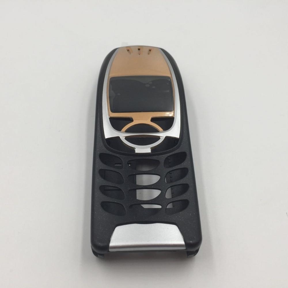Nueva carcasa para teléfono móvil completa RTBESTOYZ para Nokia 6310 negro/oro/plata/marrón