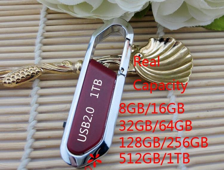 A+ Quality Hotselling Hook Usb Flash Drive 128GB 256GB 512GB Pendrive 1TB 2TB Pen Drive 32GB 64GB Memory Stick Flash Card Disk