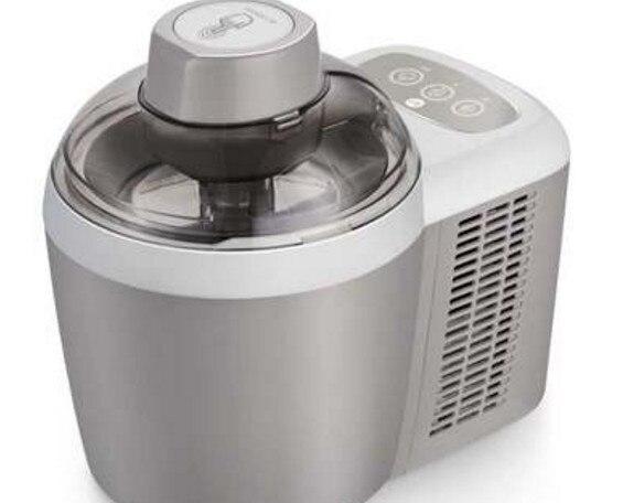 MINI DIY máquina eléctrica automática de helado suave hogar fresco helado de frutas fabricante de postres congelados