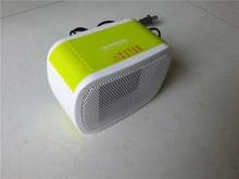 MinF01-12, gratis verzending, PTC Keramische Space Heater Electric 220 V 500 W Warm Winter Mini desktop Fan Heater Gedwongen Thuis