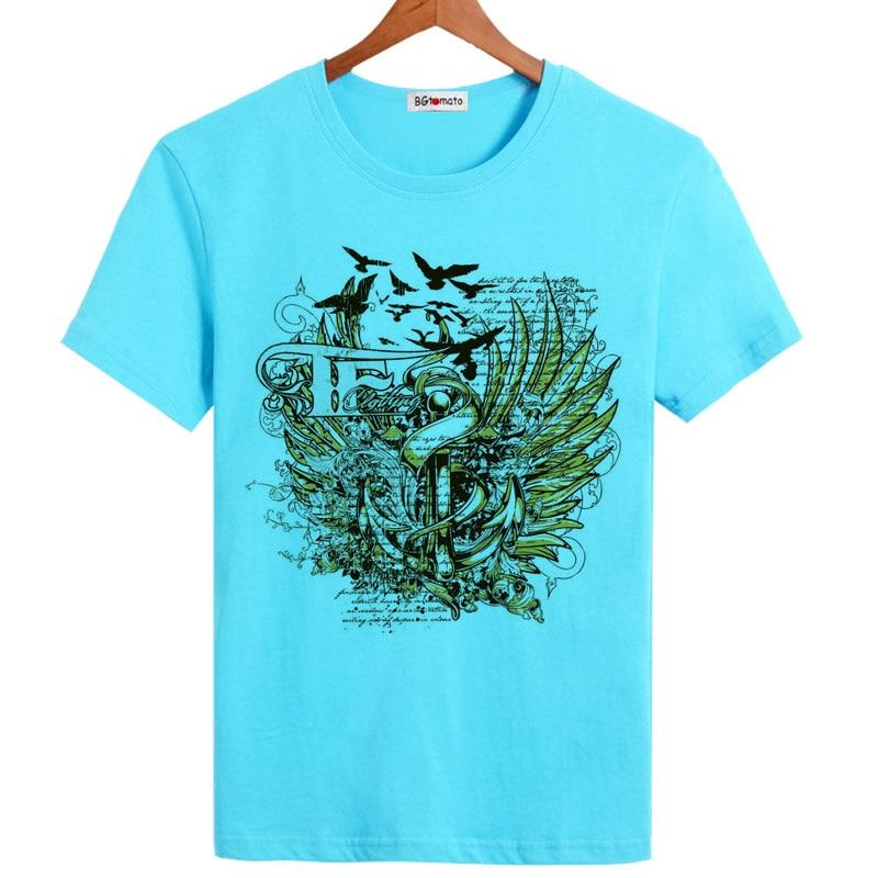 BGtomato Cool estampado moda camisetas novedad en ropa gran oferta precio barato original marca tops buena calidad camisas para hombres