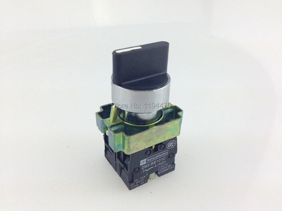 10 قطعة/الوحدة XB2 BD53 XB2-BD53 3 موقف 2NO مؤقتة حدد محدد التبديل يستبدل تيلي شنايدر Telemecanique