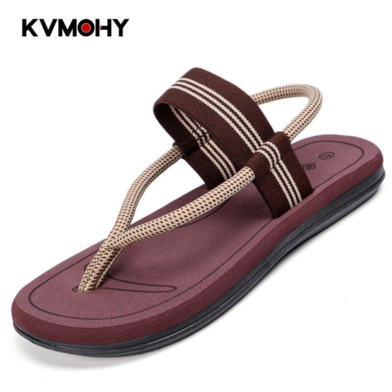 Chanclas de hombre, Zapatillas de hombre, par de sandalias de moda, zapatos de paseo de playa, Bascule Pantoufles para hombres, Zapatillas