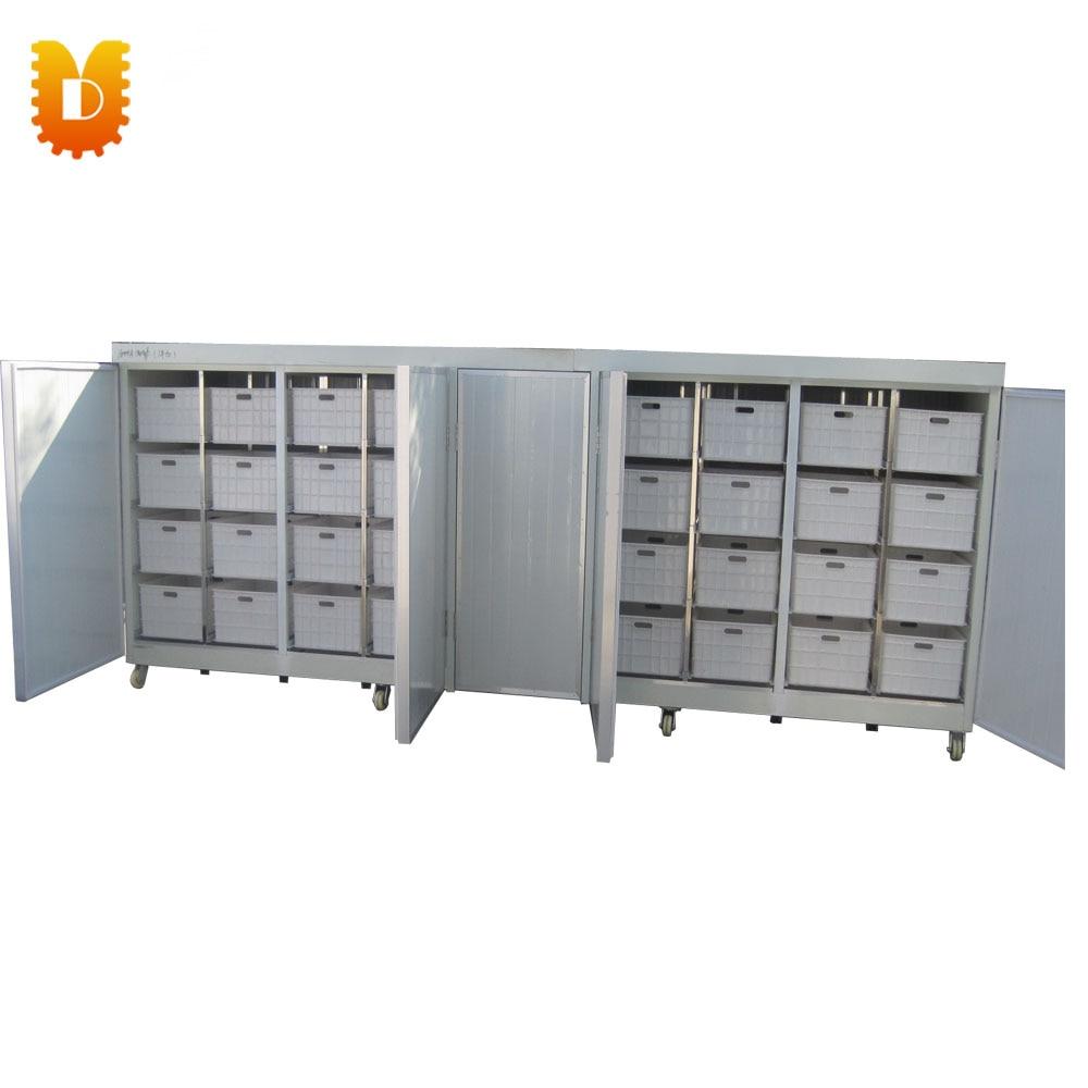 Máquina de brotes de soja Mung de 64 cajas/máquina de brotación de frijol amarillo