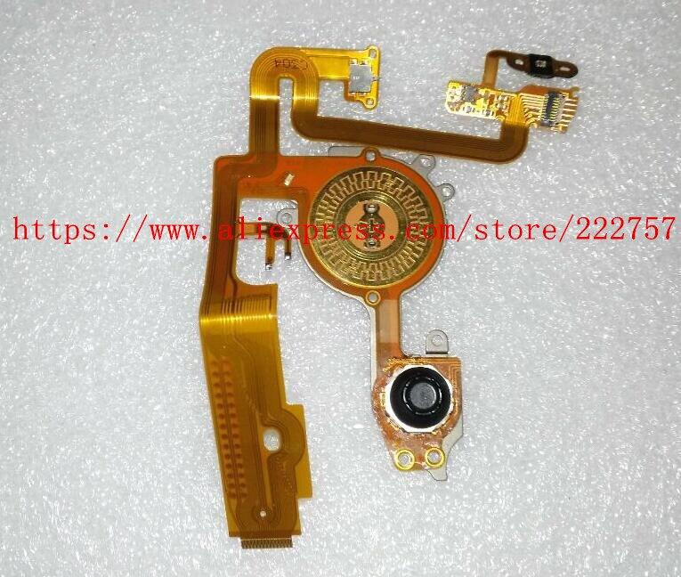 Nuevo trasera menú Dial 5D Mark II clave FPC Cable Flex para Canon 5D Mark II 5D2 flex 5DII teclado