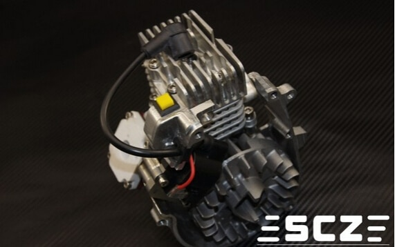 SCZ Raing 28.5CC 9HP Reed Motor für 1/5 Skala Auto Baja Losi 5ive T MCD