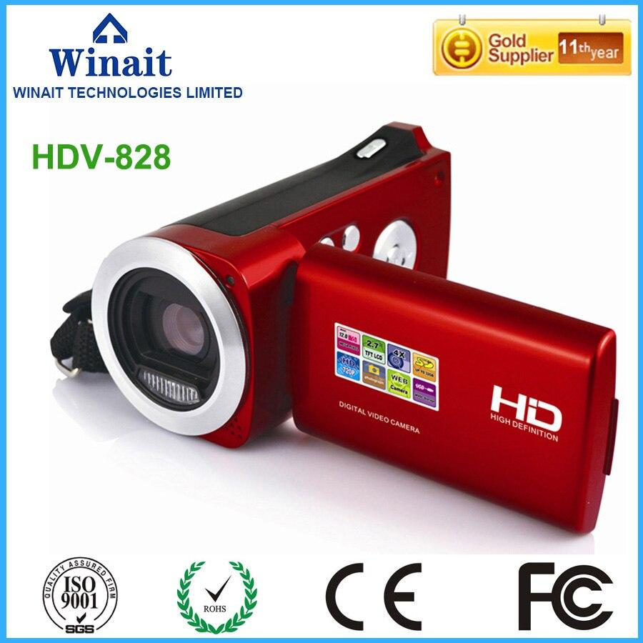 Winait câmera de vídeo digital 4x zoom digital com Gravação de Vídeo max 8mp Câmera do PC