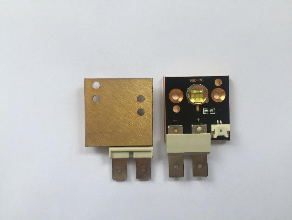Módulo de aumento de 4 uds/lote CST90 Color blanco 6500k 3000 lúmenes 9 Uds Chips 60W fuente de luz led