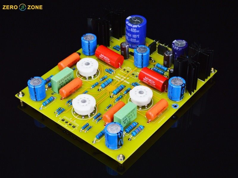 ZEROZONE PRT-07B Hifi Tube preamplifier kit base on Marantz M7 preamp (no tubes) L7-35