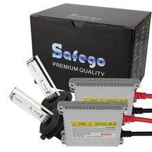 Safego-kit de lampe au xénon caché   kit de phare caché h3 12v 35w 4300K 6000K 8000K, lampe à lumière au xénon HID H1 H4 H7 H8 H9 H11 9005 9006 9004 H13