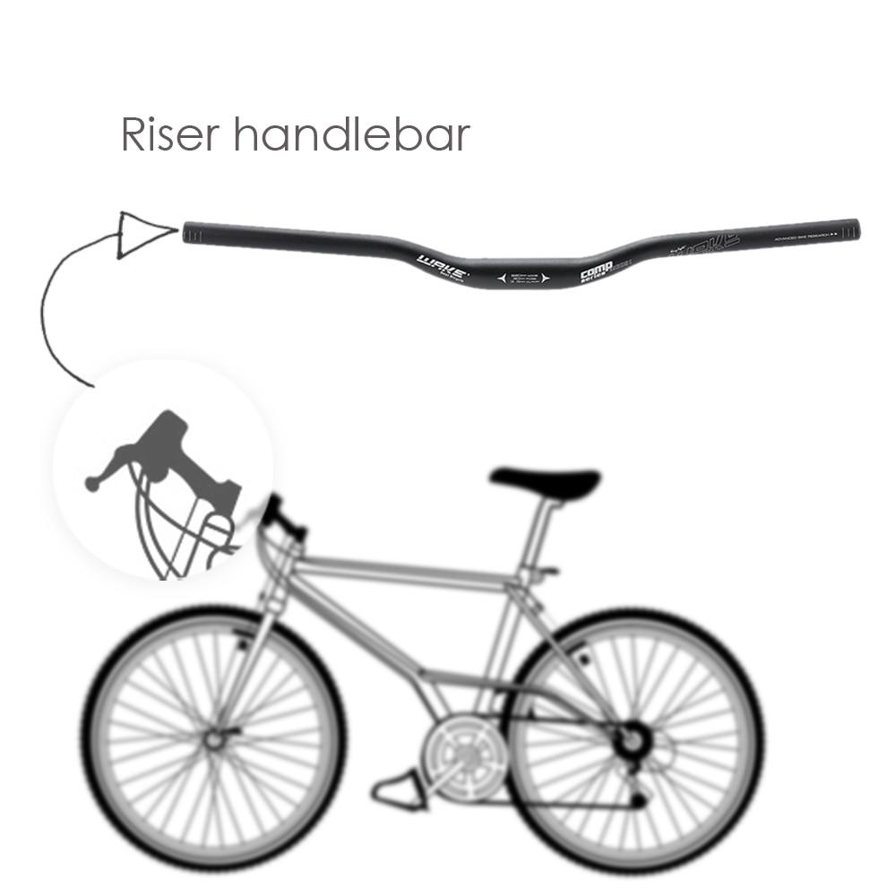 31.8 * 620mm Bicycle Handlebar MTB Mountain Bike Bicycle Aluminum Alloy Riser Handlebar Bicycle Parts