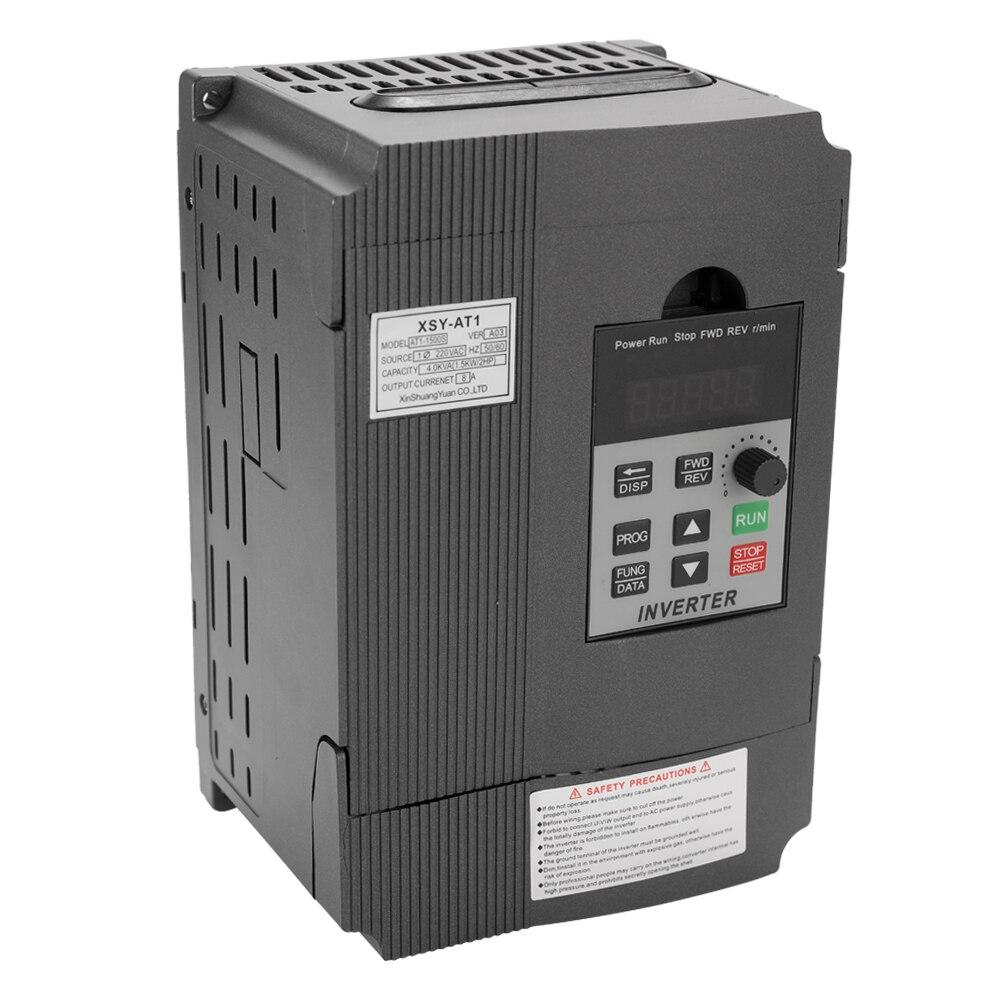 AT1-2200S 2.2kw 12a 220 v universal vfd frequência controlador de velocidade ac motor de acionamento trifásico fora inversor variável