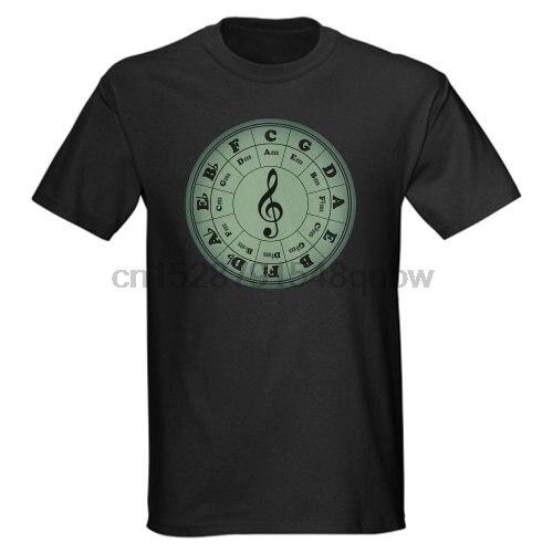 man t shirt  Green Circle Of Fifths man t shirt