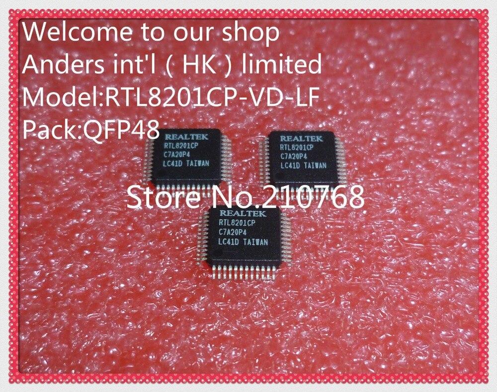 50 pçs/lote RTL8201CP-VD-LF RTL8201CP-VD RTL8201CP RTL8201 LQFP48