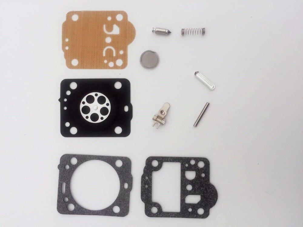 1 Juego de kit de reparación de carburador para Husqvarna 235 236 240 435 Jonsered CS2234 Cs 2238 Zama, Kit de carburador RB-149