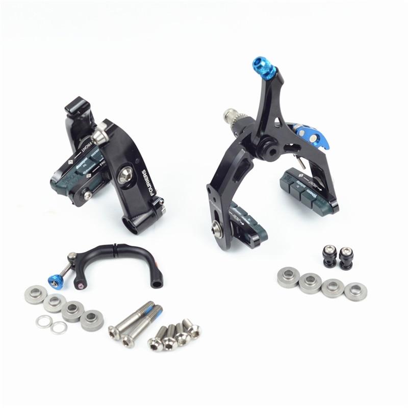 FOURIERSBR-DX006 Road BikeTRIATHLON BRAKE Full CNCmade Direct mount aero v brake Fits GIANT NEW TRINITY Liner spring adjustment