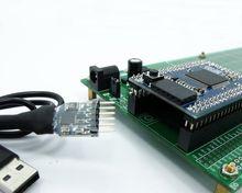 Double Side Prototype PCB Broodplank DIY 100x200mm 4.096 v voor Arduino Mega mini 2560 ATmega 2560 USB 2102